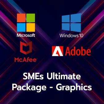 SMEs Ultimate Package - Graphic (ชุดโปรแกรมสำนักงานประจำเครื่อง และโปรแกรมออกแบบขั้นสูง สำหรับธุรกิจ SMEs)